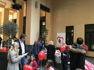 Η Καρδιά του Παιδιού σκόρπισε χαρά και χαμόγελα στο κέντρο της Αθήνας γιορτάζωντας την παγκόσμια ημέρα συγγενών καρδιοπαθειών